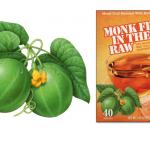 monk fruit in the raw botanical illustration